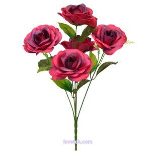 Роза-оля атласная