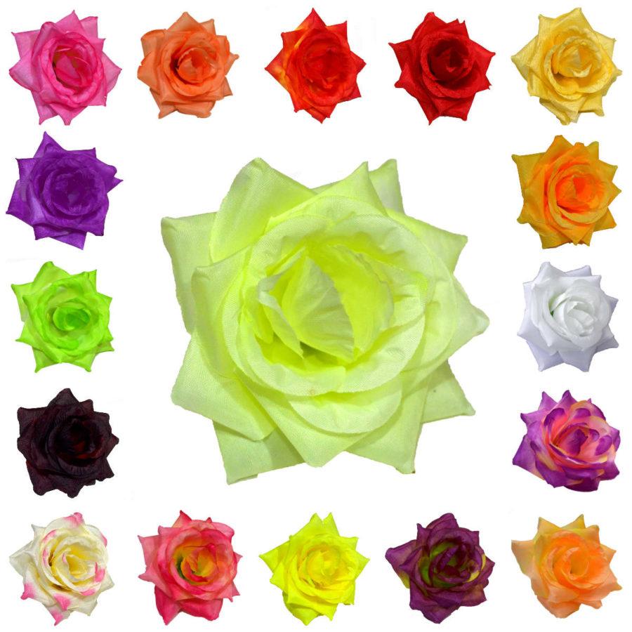 Роза средняя хлопок диаметром 10