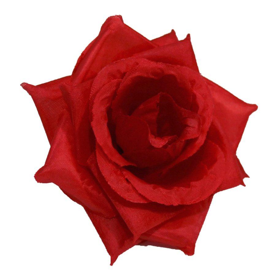 Роза средняя красная