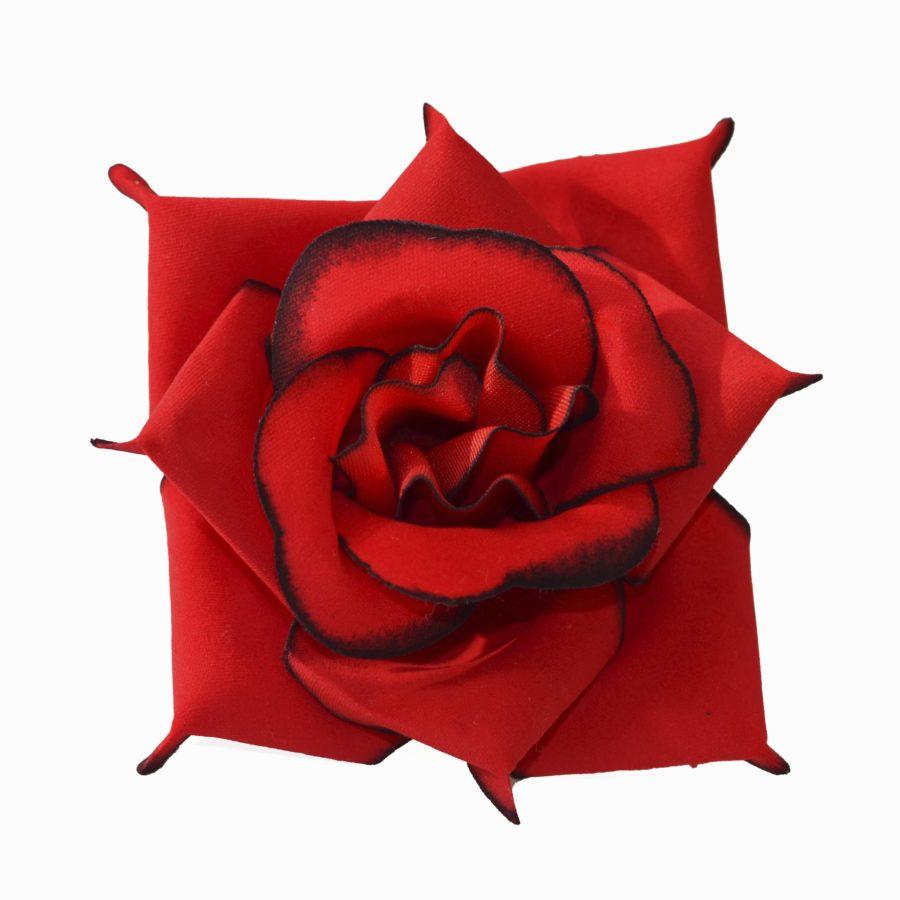 Головка бархатной розы