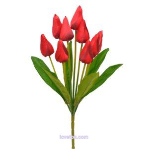 Тюльпан с трубочкой