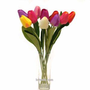 Тюльпаны закрытые средние