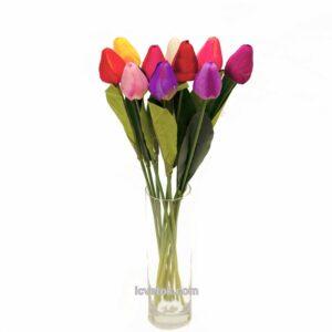 Тюльпаны закрытые меньшие