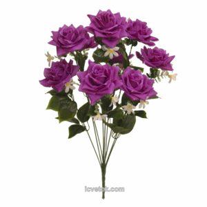 Роза открытая высокая с ромашками